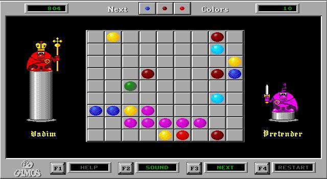 Imagen del juego Color Lines