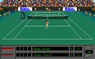 Imagen del juego World Tour Tennis