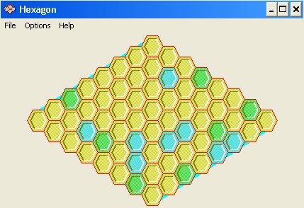 Imagen del juego Hexagon