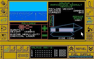 Imagen del juego Carrier Command