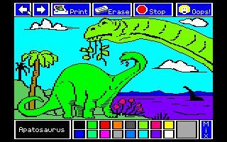 Imagen del juego Electric Crayon: Dinos Are Forever