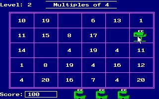Imagen del juego Number Munchers