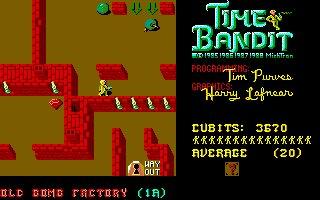 Imagen del juego Time Bandit