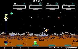 Imagen del juego Math Blaster Plus!