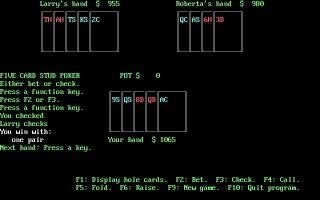 Imagen del juego Poker (1986)