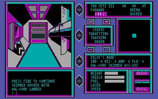 Imagen del juego Tau Ceti