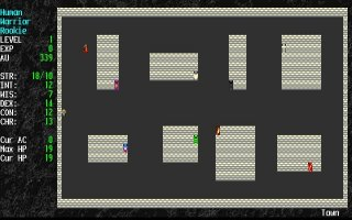 Imagen del juego Angband