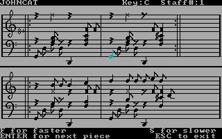 Imagen del juego Bank Street Music Writer