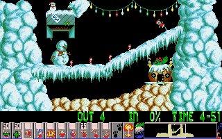 Imagen del juego Xmas Lemmings 92