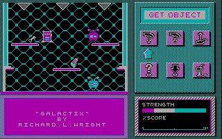 Imagen del juego Galactix (1987)