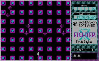 Imagen del juego X-fighter