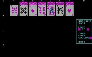 Imagen del juego Solitaire (1985)