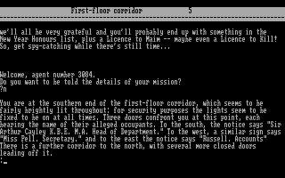 Imagen del juego Spy Snatcher