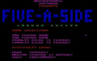 Imagen del juego Five A Side Soccer