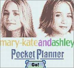 Pantallazo de mary-kateandashley Pocket Planner para Game Boy Color